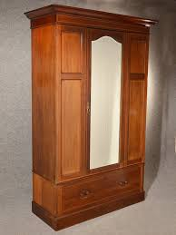 Antique Wardrobe Armoire Mirror Door Maple Co Quality English Mahogany C1910  Selling Antiques
