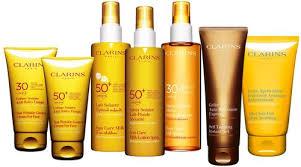 clarins sun cream