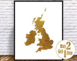 Small Picture Uk map Etsy