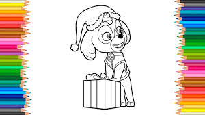 Paw Patrol Skye Coloring Pages L Coloring Book Videos For Children