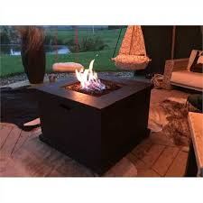 foremost terrafab square fire table