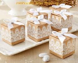 gift boxes for wedding favors. 2016 creative wedding gift box of rustic and lace kraft favor for party decoration candy flower boxes favors t