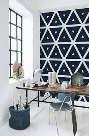 Small Picture Convex Wall Mural Geometric wallpaper Monochrome and Traditional