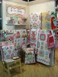 Logan's Patchwork Fabrics in Leichhardt. | Craft & Quilt Fair ... & quilt booth display by lori holt Adamdwight.com