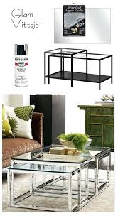 interesting mirror spray paint on wood glam coffee table or shelving side table with a little spray paint wooden mirror frame