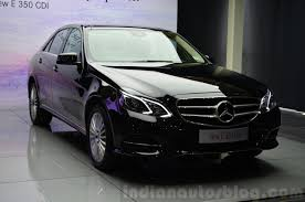 1.62 cr and goes upto rs. 2017 Mercedes E Class To Adopt New Design Language