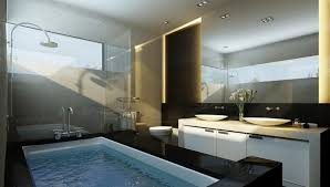 Perfect Modern Luxury Master Bathroom Bathroommodern Ideas In Housing Chatodining With Models Design