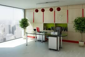 small office idea. Dazzling Idea Of Small Office Designs With Visible Glass Table Top .