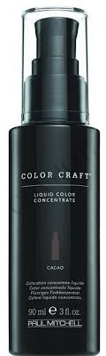 Paul Mitchell Repigmentation Chart Paul Mitchell Color Craft Liquid Color Concentrate Glamot Com