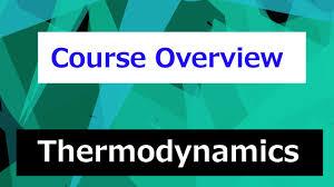 Thermodynamics Course Overview // Thermodynamics - Class 1 - YouTube