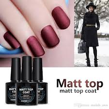 matte gel nail polish top coat diy nail style gel polish finish nail tips uv matte top coat nails gel polish star nail gel from models own 17 99 dhgate