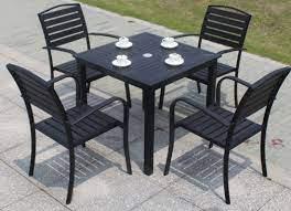 china outdoor powder coated black