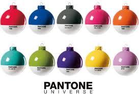 pantone universe ornaments