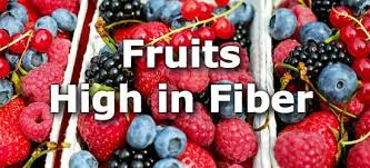 Fruit Comparison Chart 29 Fruits High In Fiber