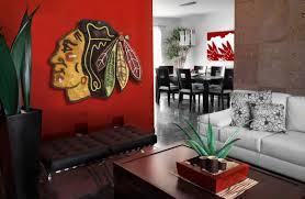 chicago blackhawks handmade distressed wood sign vintage art weathered recycled hockey