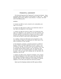 31 Free Prenuptial Agreement Samples Forms Free Template