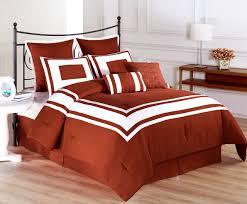33 ingenious inspiration ideas burnt orange comforter set 8 piece full lux decor sets king size