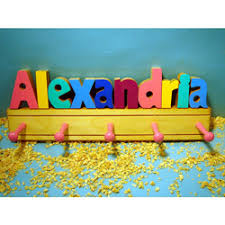 Personalized Coat Rack For Kids Order Personalized Wall Decor Online for Kids Room Nursery at 21