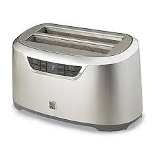 kenmore long slot toaster. kenmore elite 139399 4-slice auto-lift long slot toaster stainless steel sears