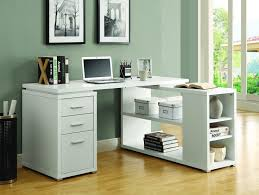 office desk images. white corner lshaped office desk with drawers u0026 shelving images o