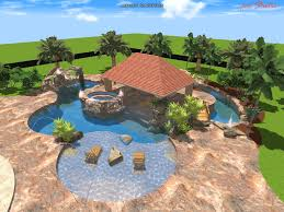 E Swimming Pool Designing Pleasing Design My Own Inground Designs  Swimming  Pool Designs Home