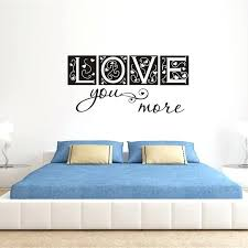 wall sticker letters large size free bedroom decor love you more vinyl wall decal sticker wall sticker letters wall decal