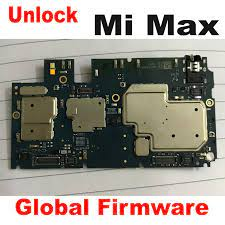 Original Global FirmWare Used Test Working Unlock Mainboard For Xiaomi Mi  Max Motherboard Circuits Fee Flex Cable Accessory Set Phone Accessory  Bundles & Sets  - AliExpress
