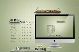 best office wallpapers. Desktop Wallpaper Calendar April 2011 600x397 Best Office Wallpapers