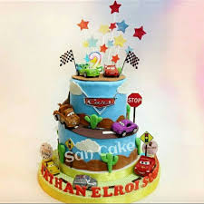 Cars Birthday Cakes Food Drinks Baked Goods On Carousell