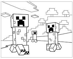 Risultati Immagini Per Minecraft Da Colorare Schede Minecraft
