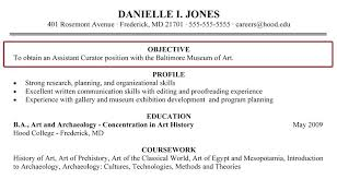 Objective Resume Example For Students Objectives In Resume