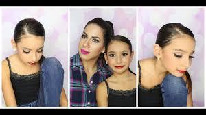 recital makeup and hair tutorial dance makeup peion for kids se makeup