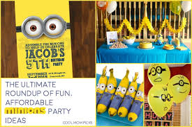 The ultimate roundup of fun, affordable Minion birthday party ideas that  you can actually do