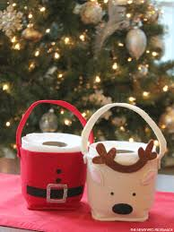Easy And Cute DIY Christmas Crafts For Kids U2013 Page 3 Of 3 U2013 Cute Toilet Paper Roll Crafts For Christmas