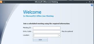Microsoft Office Meeting How To Use Microsoft Office Live Meeting To Attend Webinar