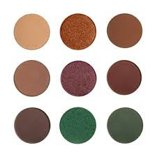 makeup geek holiday eyeshadow bundle 9 pans