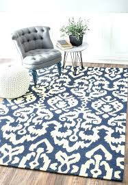 navy blue outdoor rug sundeck tribal indoor southwestern rugs and white area source com