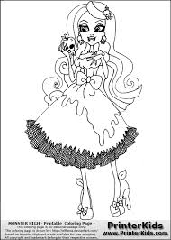 Small Picture Monster High Draculaura Coloring Pages GetColoringPagescom