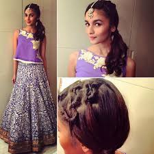 Alia Bhatt Hairstyle alia bhatts exclusive hairstyles you can try this valentines day 4824 by stevesalt.us