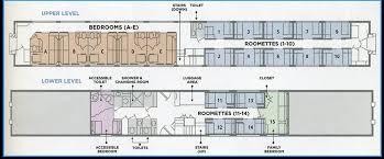 Typical Floor Plan Sleeper Car Auto Train From Yourfirstvisit.net