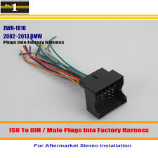 online buy whole bmw wiring harness from bmw wiring for bmw 2002~2013 male iso radio wire cable wiring harness car stereo