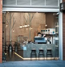 Australian restaurants and bars shortlisted for an international design  award: Raw Trader, Melbourne by. Coffee Shop ...