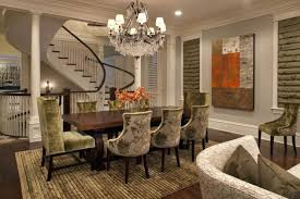 dining room lighting trends. Dining Room Lighting Trends Amazing Crystal Chandelier Escorted By Stainless Steel Table Also E