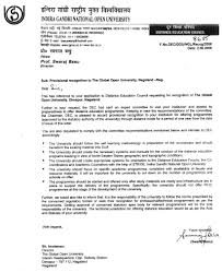 the global open university nagaland distance education council approval letter