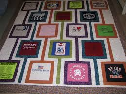 Cool idea. KeepsakeSewing: T-shirt quilt for graduation | My T ... & Cool idea. KeepsakeSewing: T-shirt quilt for graduation Adamdwight.com