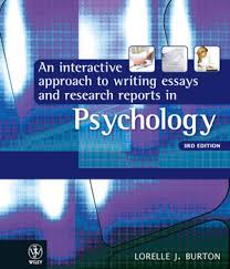 an interactive approach to writing essays and research reports in  an interactive approach to writing essays and research reports in psychology lorelle jane burton the co op