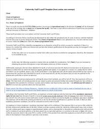 Sample Layoff Letter Are Employers Required To Give Notice Of Layoff
