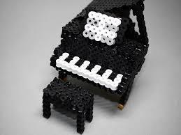 3d Perlerbeads アイロンビーズ 楽器 グランドピアノver2