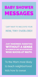 Baby Congrats Note Funny Baby Shower Wishes And Congratulations Messages