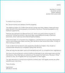 Landlord Tenant Reference Letter Putasgae Info